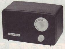 1961 DELMONICO NT-5 RADIO SERVICE MANUAL SCHEMATIC photofact NT5 DIAGRAM TUBE
