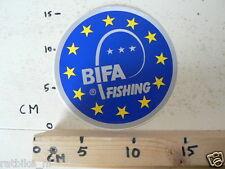 STICKER,DECAL BIFA  FISHING VISSEN