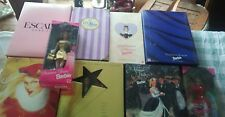 Lot of 9 Barbie Dolls Collector Edition