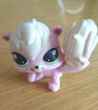 Littlest Pet Shop LPS CW820 Cute Pink/Milk White Animal Toys For Boys & Girls