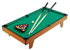 Spieltisch Billiard Tischspiel inkl. Kö und Kugeln Mini Pool Billardtisch NEU