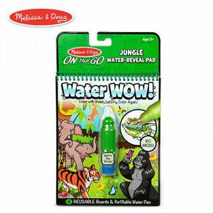 Melissa & Doug On The Go Water Wow! Jungle Activity Pad #30176 Reusable