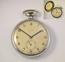 Antique Swiss pocket watch ZENITH Zenit + original metal case