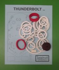 1976 Allied Leisure Thunderbolt pinball rubber ring kit