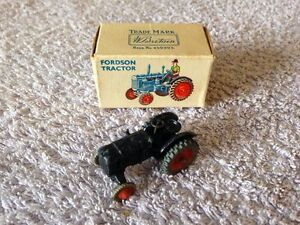 Britians No. LV/604 Lilliput World OO/HO Gauge Fordson Tractor - Boxed