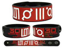 30 SECONDS TO MARS Rubber Bracelet Wristband Jared Leto