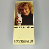 NEW Vintrage Sharp SP-300 Telephone Mini Phone Retro Weird Box