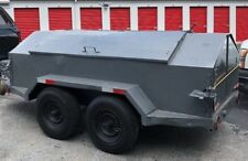 Dual Axle Contractor Trailer - Tool Trailer 14' All Steel - Utility Trailer