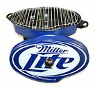 NEW IN BOX RARE MILLER LITE PORTABLE BBQ GRILL GREAT FOR A GIFT / TAILGATING