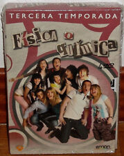 FISICA O QUIMICA 3ª TEMPORADA COMPLETA 4 DVD PRECINTADO NUEVO (SIN ABRIR) R2