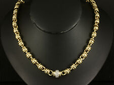 Attraktives Brillant Collier ca. 1,00ct   33,8g 585/- Gelbgold