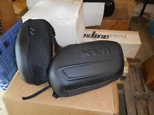 NOS Kawasaki OEM Black Saddlebags Side Luggage KLR650 K57003-100A