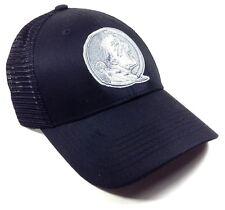 PREDATOR FLORIDA STATE UNIVERSITY FSU SEMINOLES LOGO BLACK MESH SNAPBACK HAT CAP