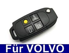 4Tasten Spare Pull Key Housing for Volvo S60 S80 V70 XC70 XC90 S90 V90