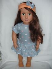 ca. 45.72 cm Bambola Collant//body per adattarsi American Girl o bambole 18 in