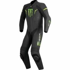 Monster One Piece Motorbike/Motorcycle Racing Leather Suit All Sizes Available