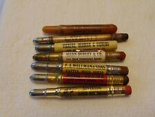 Vintage Lot 1 Advertising Bullet Pencils Stockyards Livestock