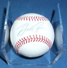 Hank Conger Autographed Baseball Authenticated, Tampa Bay Rays, 2-20-16 with COA
