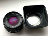 MC VOLNA 3 2.8/80mm KIEV 88 SALUT lens