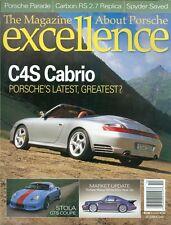 2003 Excellence Magazine (About Porsche): C4S Cabrio/Stola GTS Coupe/912 Heat Up