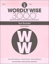 4TH EDITION  Wordly Wise 3000 Grade 3 Tests