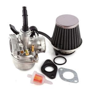 PZ19 Pit Dirt Bike Carb Carburettor+Air Filter For 50cc 90cc 110cc 125cc Pitbike