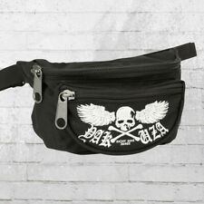 Yakuza Bauchtasche Skull Wings schwarz Gürteltasche Waistbag Hip Bag Bum