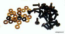 """Set of 25 - 10-32 x 5/8"""" Truss Head Rack Screws with Nylon Washers Rh-S/W-25"""