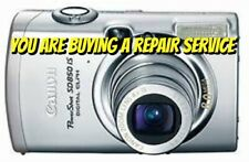 CANON SD800 IS or SD850 IS REPAIR SERVICE for your BROKEN DIGITAL CAMERA