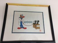 Doctor Bozo Original Ltd Edition Fine Art Serigraph Cel Framed