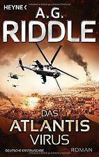 Das Atlantis-Virus: Roman (Die Atlantis-Trilogie, Band 2...   Buch   Zustand gut