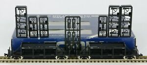TOMIX 2777 KATO ? 2x N GAUGE JAPAN JAPANESE RAILWAY JR BOGIE WAGONS BOXED & MINT