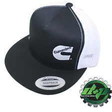 Dodge Cummins trucker mesh summer cummings hat ball cap flat bill snap back base