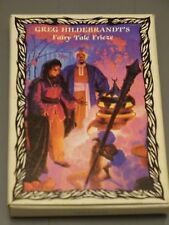 Greg Hildebrandt's Fairy Tale Frieze Booklet Vintage Unicorn Publishing 1985