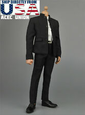1/6 Bruce Lee Kung Fu Suit Chinese Style Costume A For HotToys TTM18 TTM21 USA