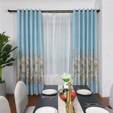 Garden Fallen Leaves Blackout Curtains Home Decoration For Window Bedroom 6A