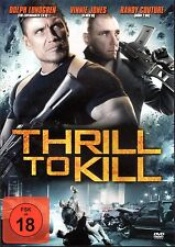 Thrill to kill / Ambushed , 100% uncut , DVD , new & sealed , Dolph Lundgren