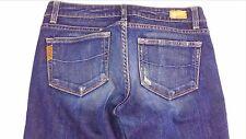 Paige Premium Denim Jeans Melrose Womens SZ 27 Tall Dark 30.5 x 34.25 Actual Low