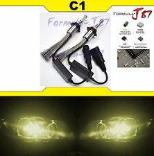 LED Kit C1 60W 9012 HIR2 3000K Yellow Two Bulb Head Light Dual Beam Replace Show