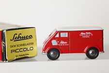 Dickie SHUCO Piccolo 1:90 DKW Carro RÁPIDO - rojo, en emb.orig. (84285)