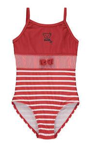 STEIFF® Mädchen Beachwear Badeanzug Rot Gr. 98-122 S 2020 NEU!