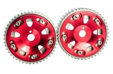 2PC Adjustable Cam Gears Timing pulley kit FOR Toyota 3S-GTE MR2 CELICA CALDINA