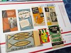Vintage Set 1950s SHAKESPEARE Fishing  Tips Tackle Catalogs