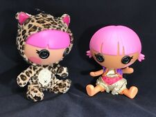 """LALALOOPSY Littles 8"""" DOLLS  in Leopard and Genie costume Outfit  (E)"""