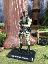 "GI Joe 25th Anniversary Ranger Sgt. Stalker loose 3.75"" w File Card"