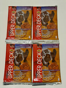 1993-94 Upper Deck NBA Series 2 12-Card Hobby Pack x 4 Brand New & Sealed
