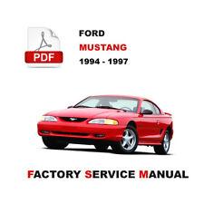 repair manuals literature for 1997 ford mustang ebay rh ebay com 1996 ford mustang repair manual 2000 Mustang