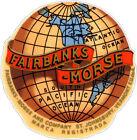 FAIRBANKS MORSE GLOBE (A835)