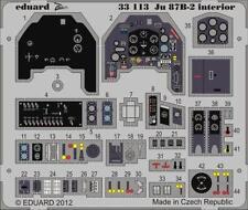 Eduard Zoom 33113 1/32 Trumpeter Junkers Ju 87B-2 'Stuka'  interior  SA