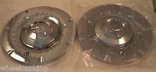 Zinik Wheels Chrome Custom Wheel Center Caps Set of 2 #D U E / SI-CAP-Z147 NEW!